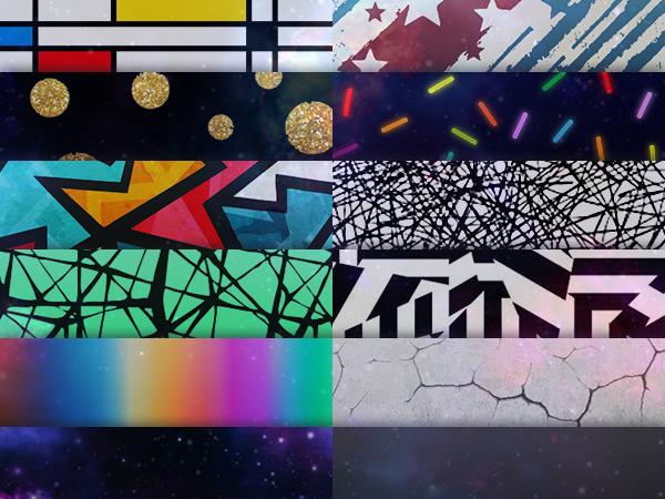 12 Verrückte Lackeffekte, z.B. Mondrian Style, Dazzle, Anodisiert, Galaxy uvm...